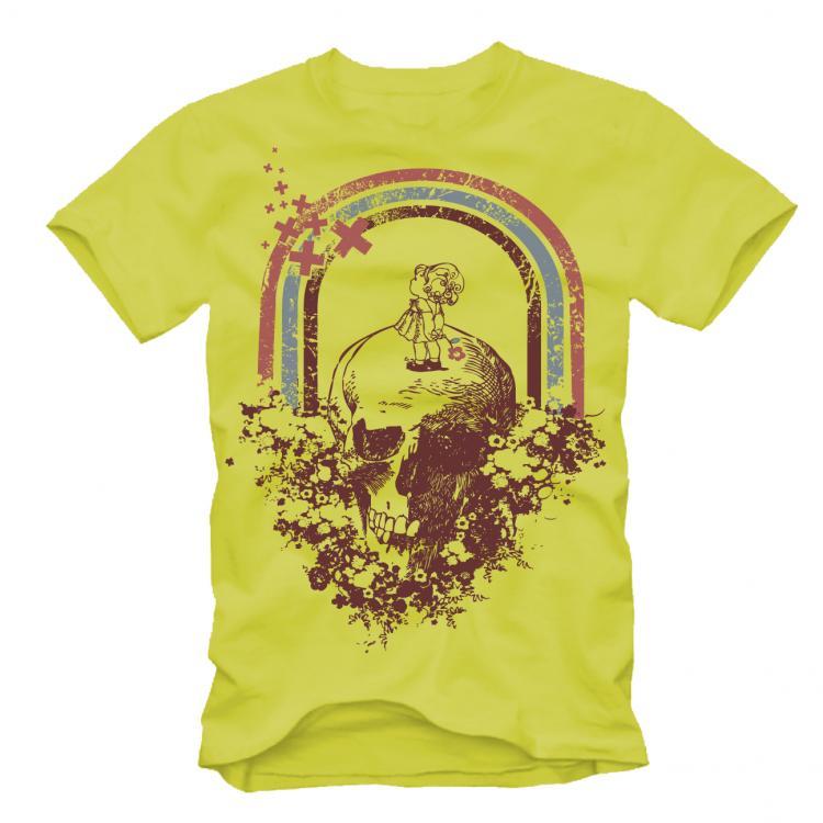 free vector Free Retro T-Shirt Design